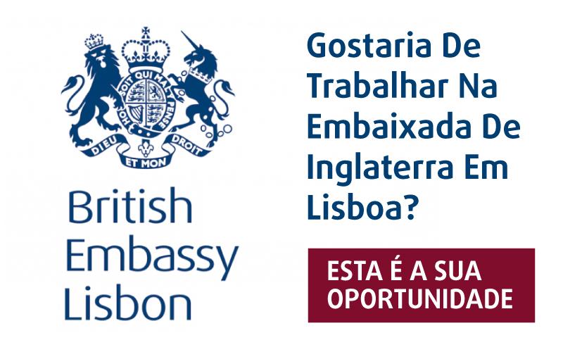 emprego embaixada inglaterra