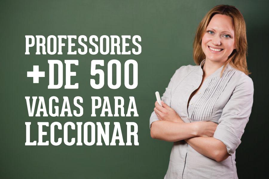 VAGAS PROFESSORES