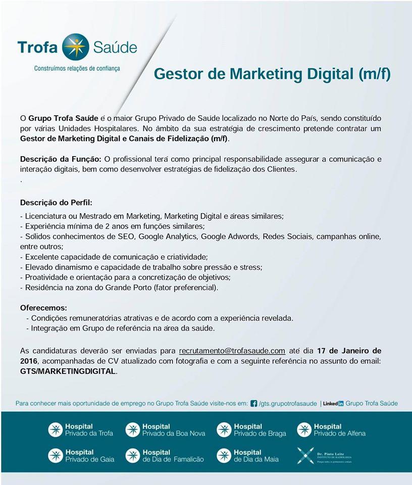 emprego marketing digital