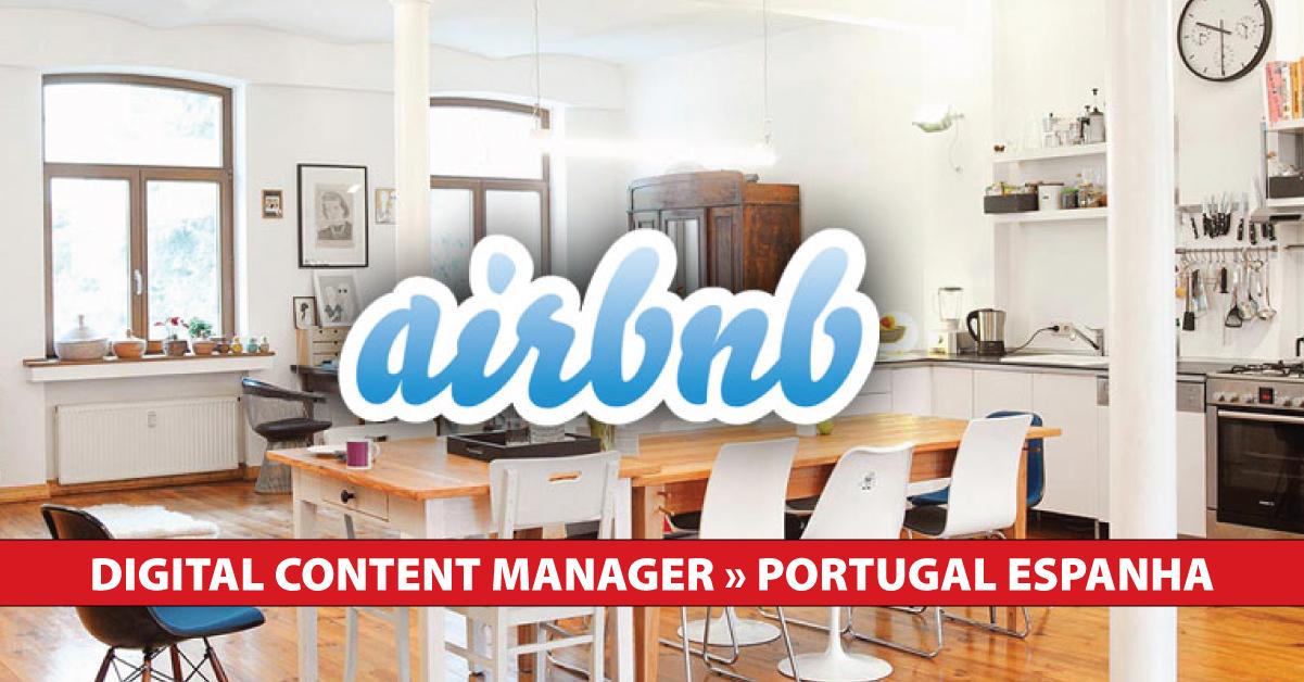digital airbnb emprego